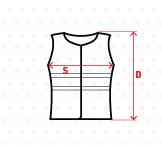 Maketa textilu pro upřesnění rozměrů textilu