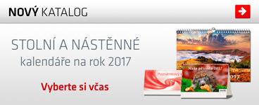 Nov� kolekce stoln�ch a n�st�nn�ch kalend��� 2017
