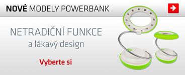 44 novinek mezi powerbankami
