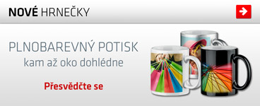 Nov� hrnky vhodn� na potisk sublimac�