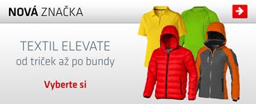 Kvalitní reklamní textil značky Elevate