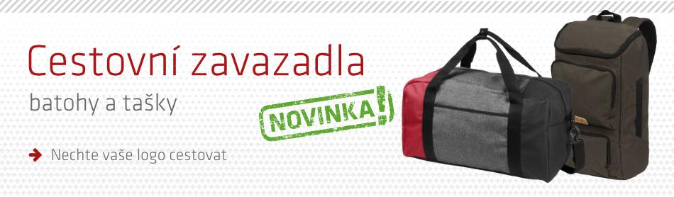 82813a23f0 NOVINKA  Reklamní batohy a cestovní tašky - iNETPrint.cz