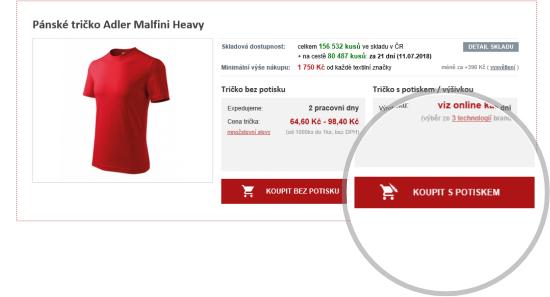 Firemní a propagační trička s potiskem - iNETPrint.cz 75db4e0294
