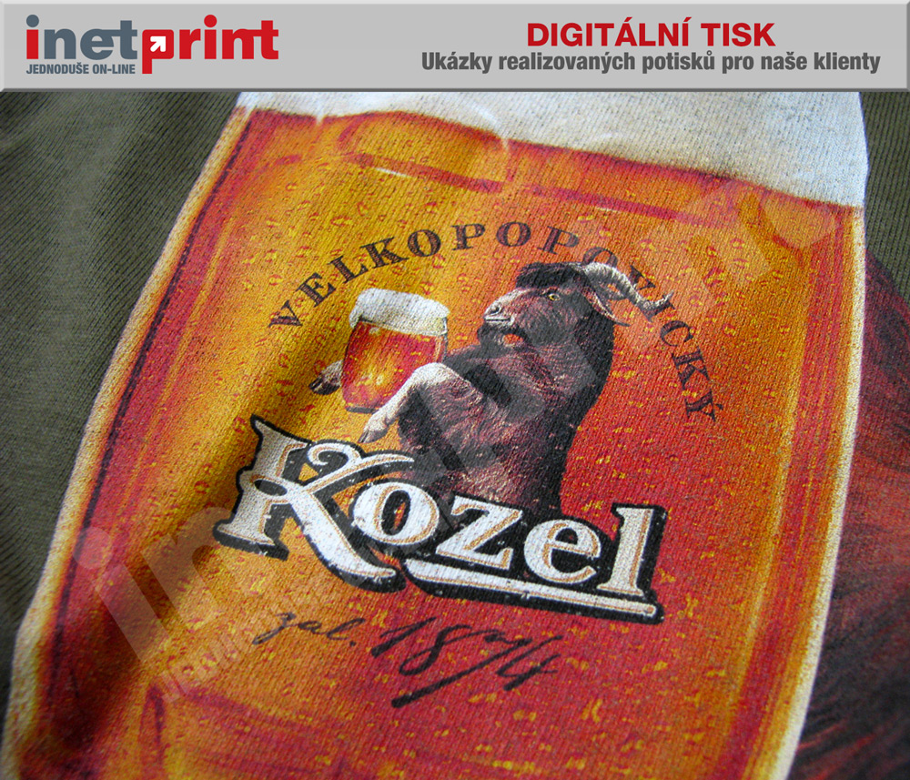 9cb83b369 Plnobarevný potisk textilu digitiskem za nízké ceny - iNETPrint.cz