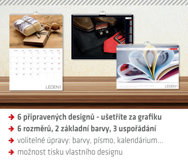 Sestavte si nástěnný kalendář s vlastními fotkami na míru