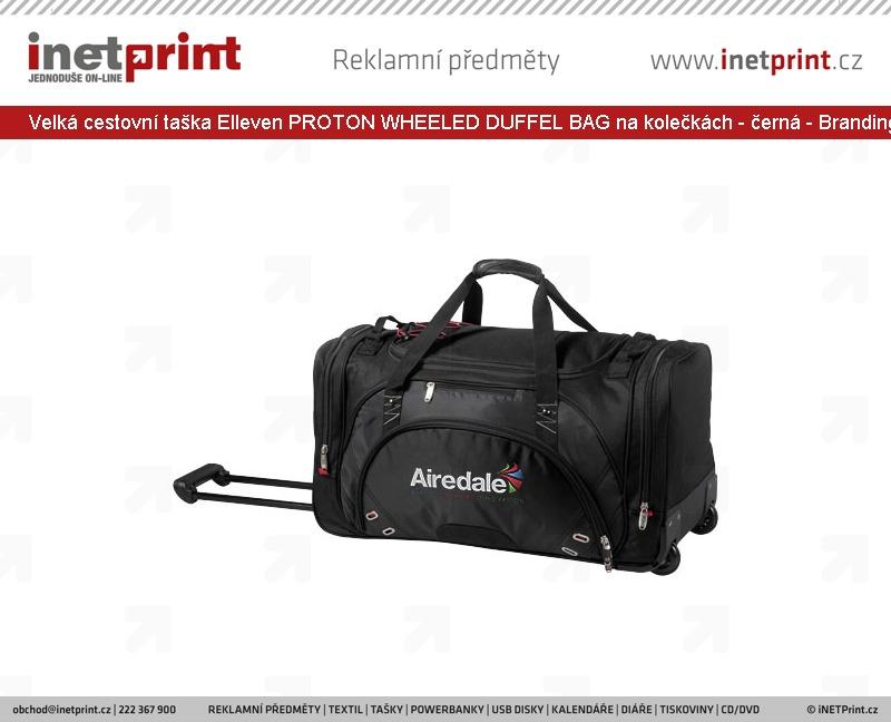 02321b31bbe Branding  Velká cestovní taška Elleven PROTON WHEELED DUFFEL BAG na ...