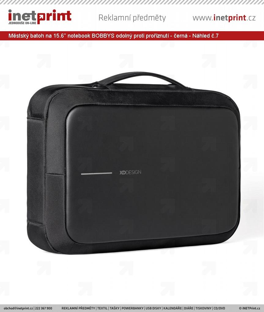 """54c13a44e7 +22 dalších · Městský batoh na 15.6"""" notebook BOBBYS odolný proti  proříznutí - černá - Náhled č."""