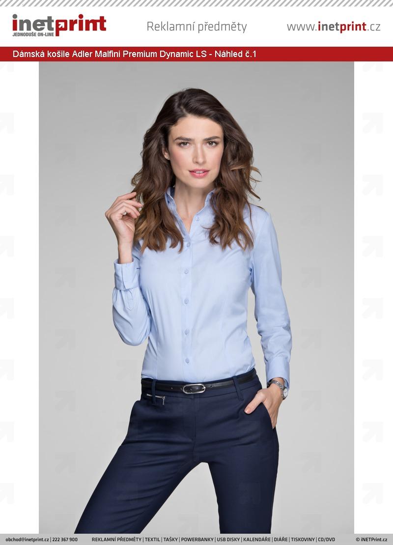 a6dadb17b46 Dámská košile Adler Malfini Premium Dynamic LS - Náhled č.1 ...