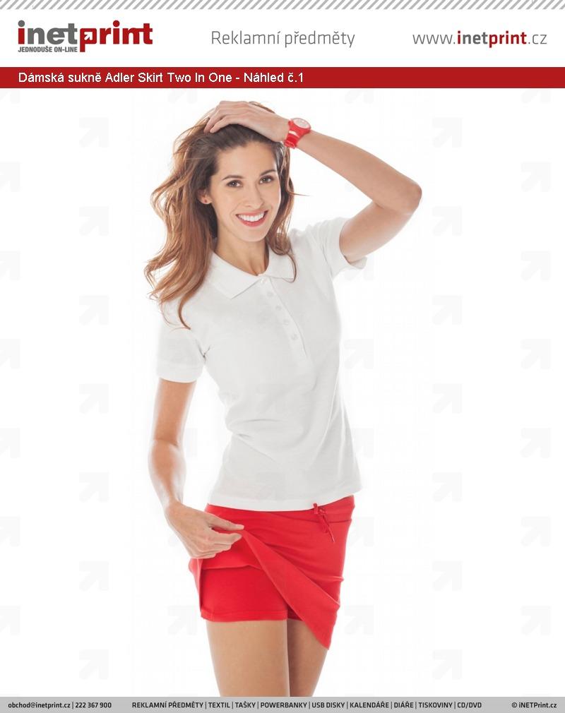 Dámská sukně Adler Malfini Skirt Two In One - Náhled č.1 67b6622ca1