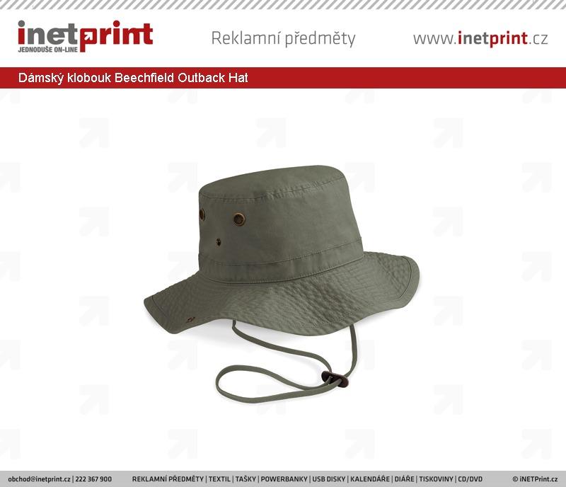 9785c9196d8 Dámský klobouk Beechfield Outback Hat. Náhled produktu