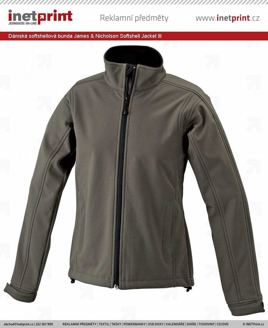 Dámská softshellová bunda James   Nicholson Ladies Softshell Jacket. Náhled  produktu 132a7ba78af