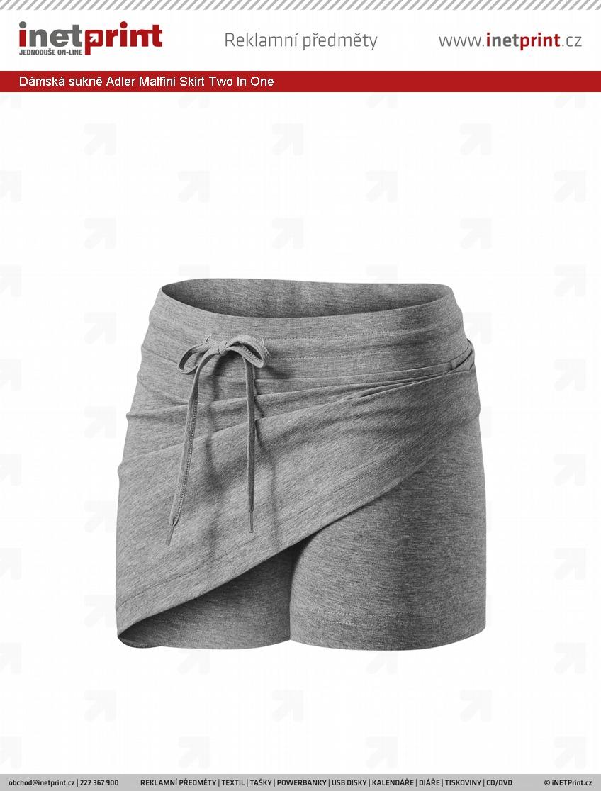 Dámská sukně Adler Malfini Skirt Two In One. Náhled produktu 96c383bba1