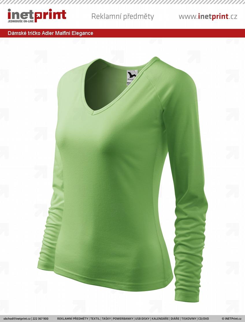 8d51294fccef Dámské tričko Adler Malfini Elegance. Náhled produktu
