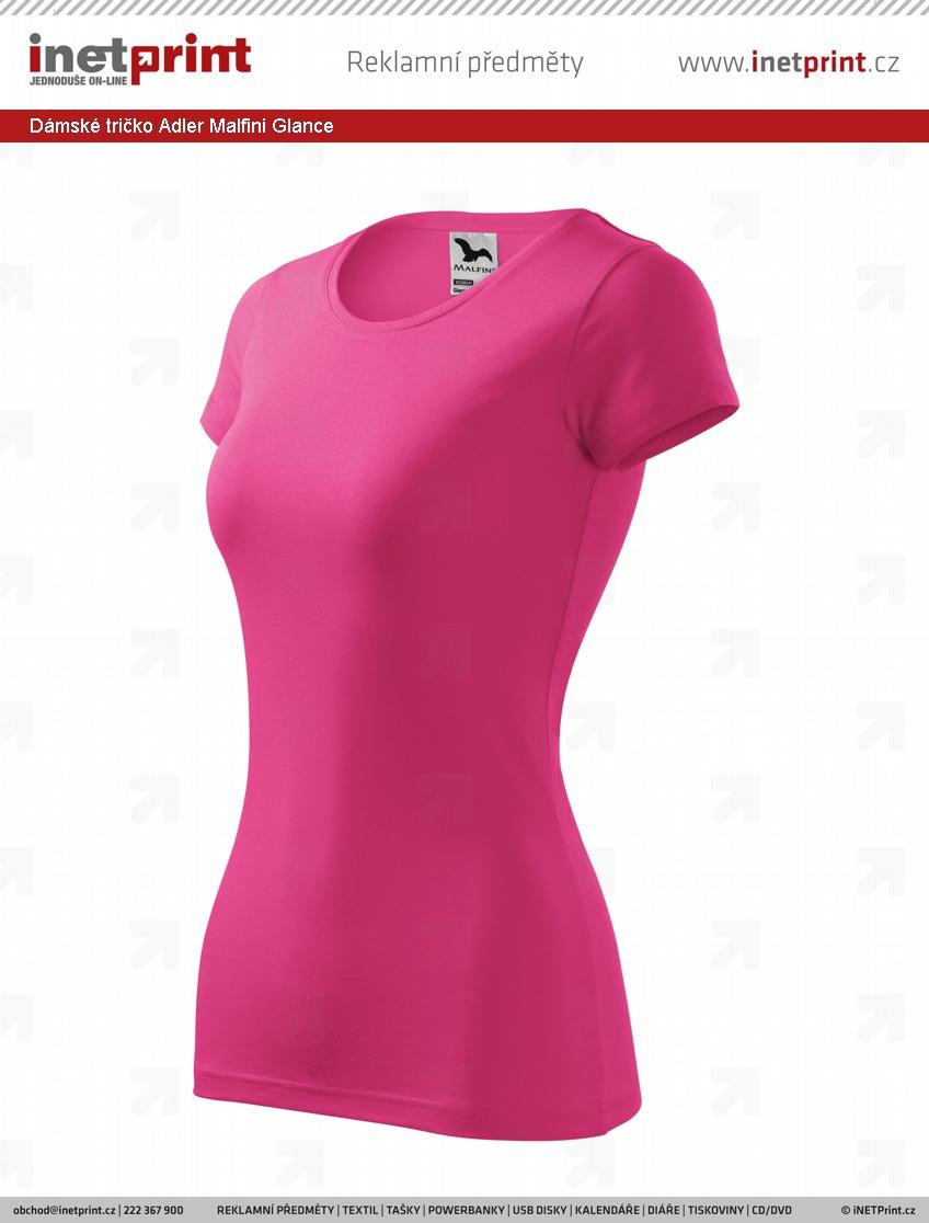 bf087e92e834 Náhled produktu Dámské tričko Adler Malfini Glance