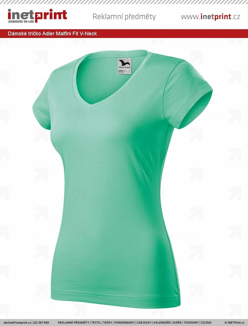 ed232596e5af Dámské tričko Adler Malfini Fit V-Neck. Náhled produktu