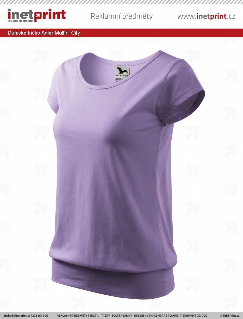 42c8b32e0878 Náhled produktu Dámské tričko Adler Malfini City