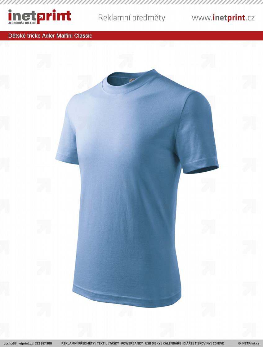 07fa3efe458 Dětské tričko Adler Malfini Classic. Náhled produktu