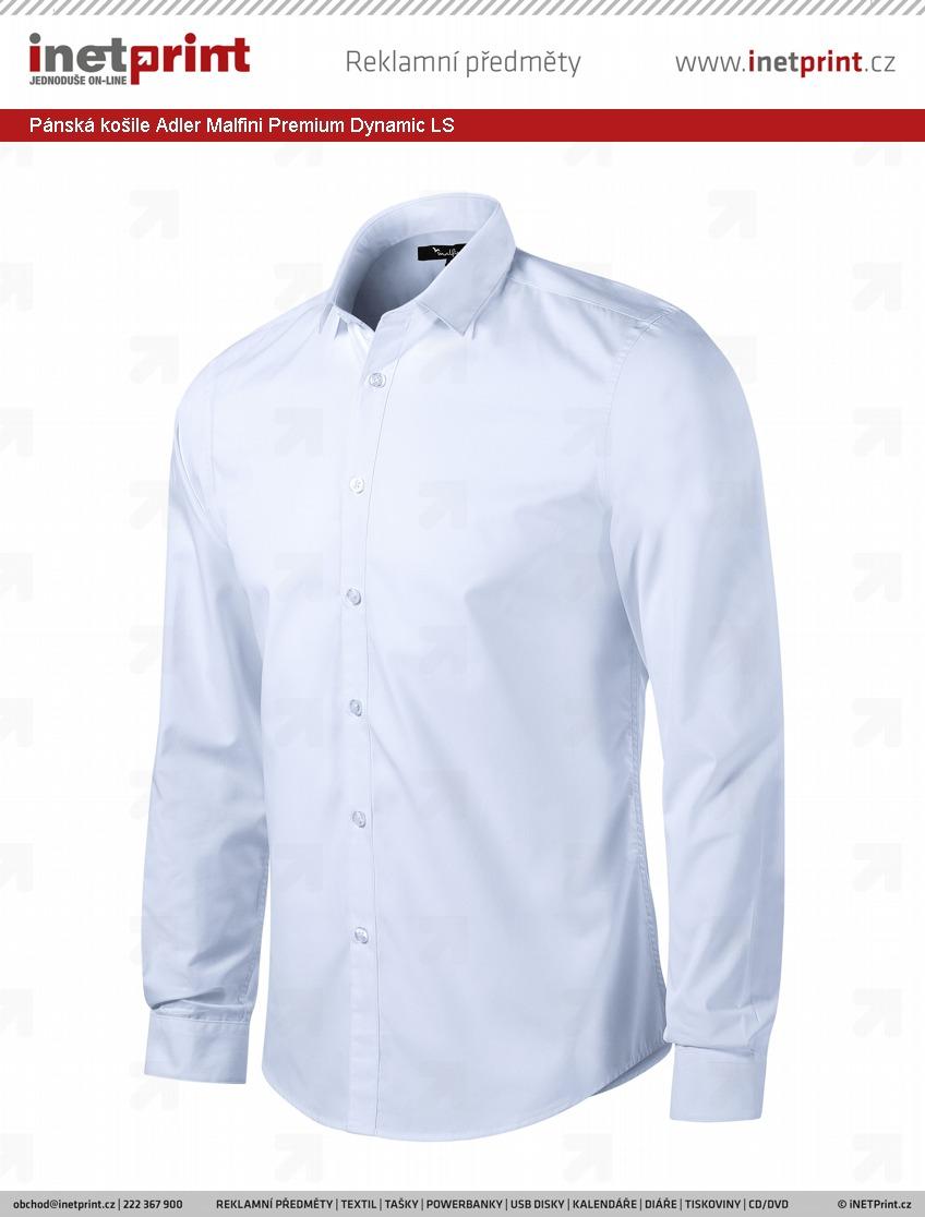 Pánská košile Adler Malfini Premium Dynamic LS - iNETPrint.cz e7f146899c