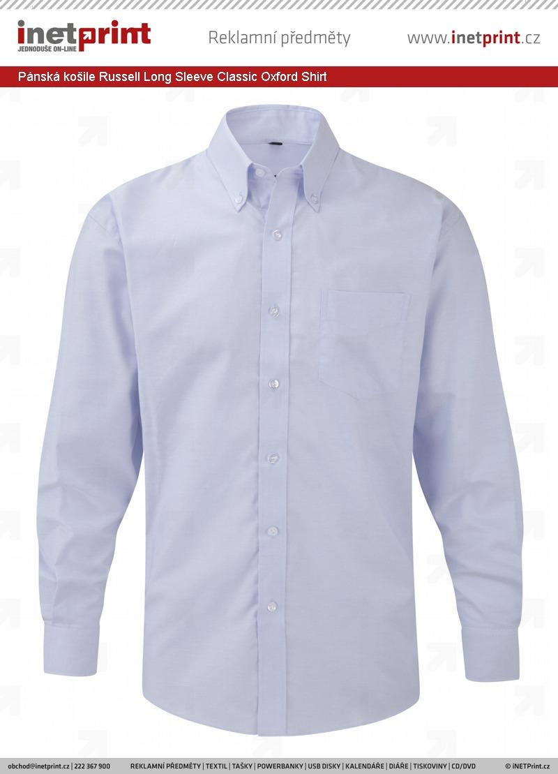 a2d43a70c31 Pánská košile Russel Men´s Long Sleeve Easy Care Oxford Shirt ...