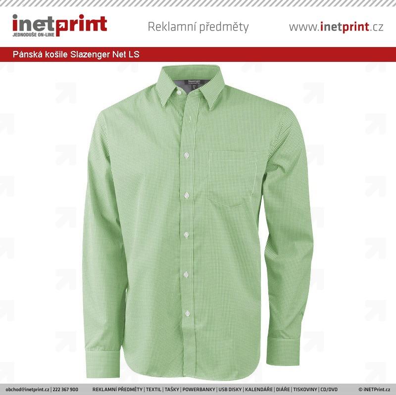 Pánská košile Slazenger Net LS. Náhled produktu dc3090008d