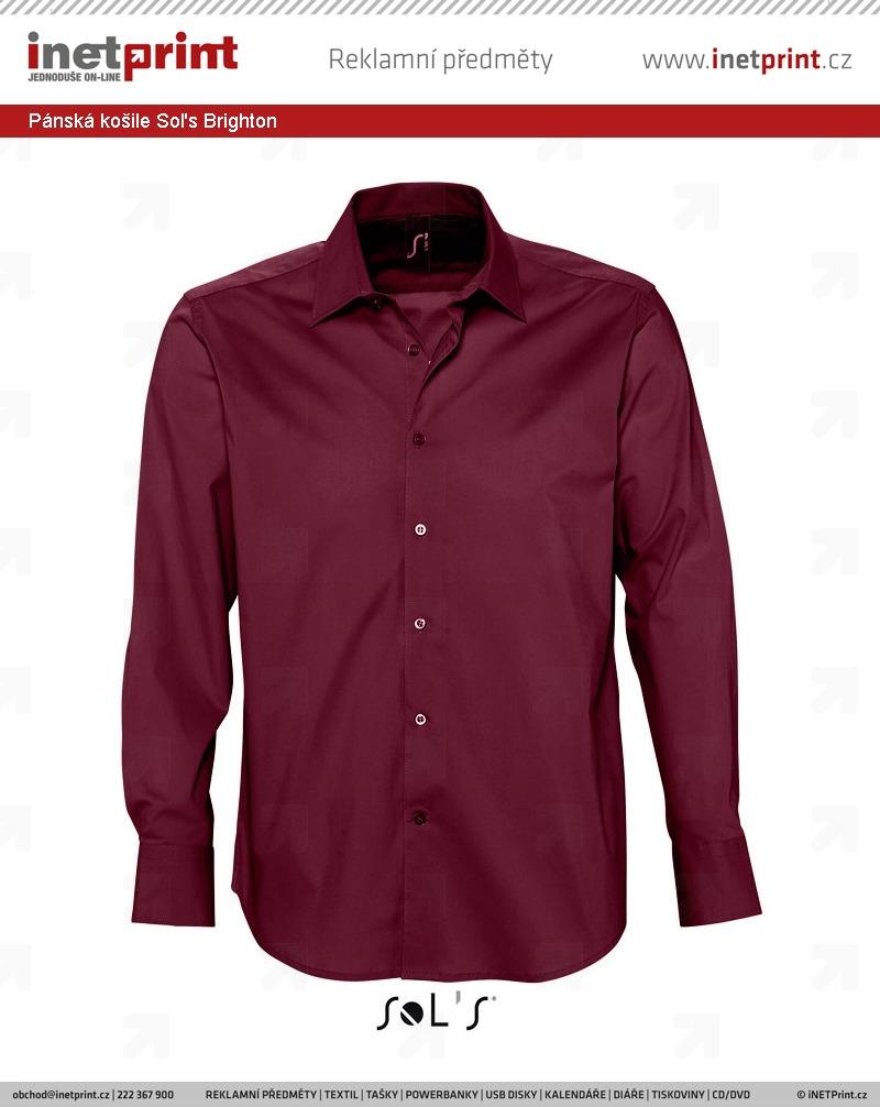 Pánská košile Sol s Brighton - iNETPrint.cz 3452278649