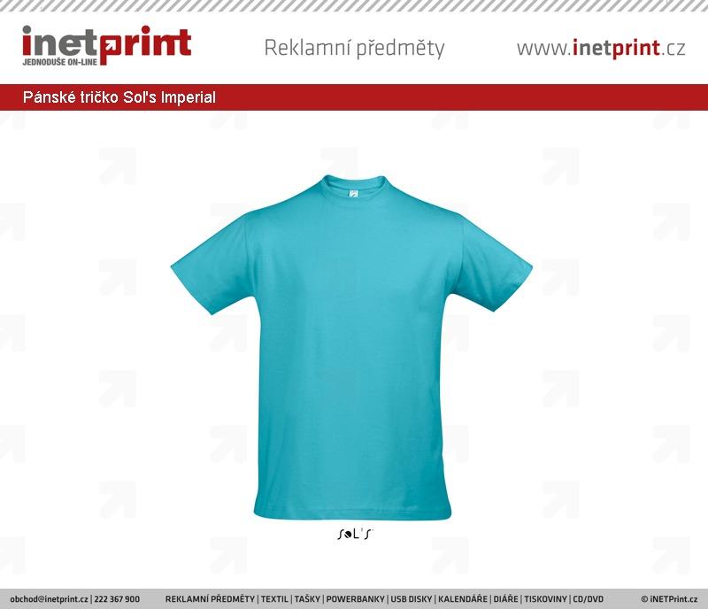 Skladové zásoby  Pánské tričko Sol s Imperial - iNETPrint.cz 3749e9435a