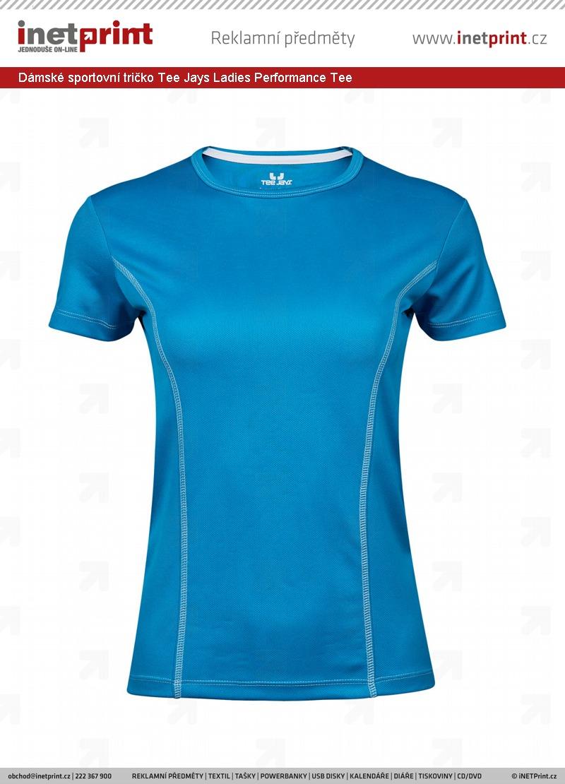 Dámské sportovní tričko Tee Jays Ladies Performance Tee. Náhled produktu 74d3c002ef