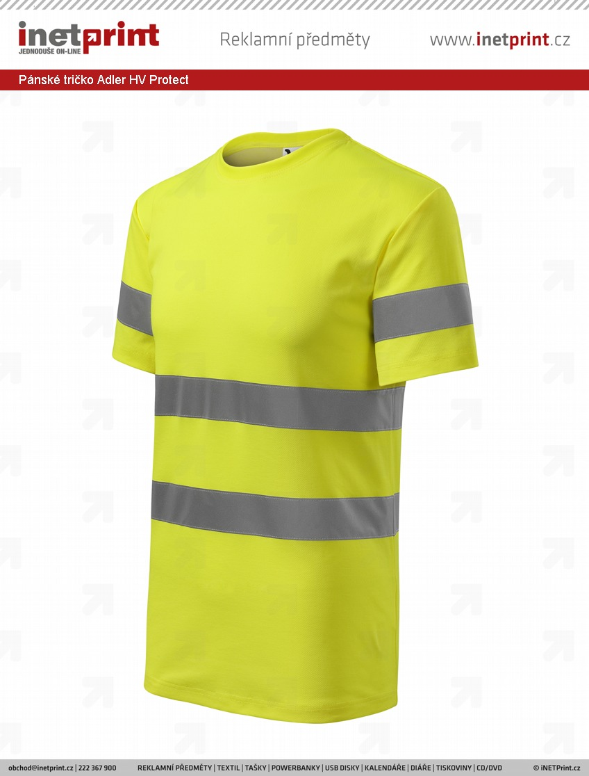 6ff4ae2f69d9 Pánské tričko Adler Malfini HV Protect. Náhled produktu