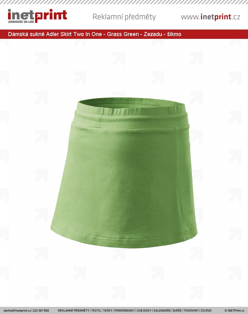 Dámská sukně Adler Malfini Skirt Two In One - iNETPrint.cz bdc6aeb532