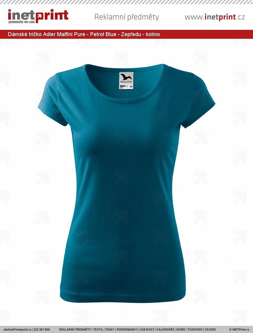 2ffc38bb384 Dámské tričko Adler Malfini Pure - iNETPrint.cz