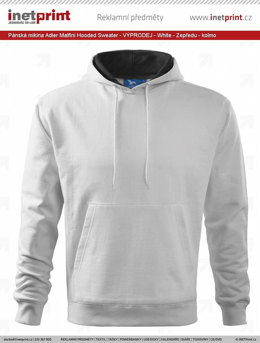 e4b2d033bb0 Pánská mikina Adler Malfini Hooded Sweater - VÝPRODEJ - iNETPrint.cz