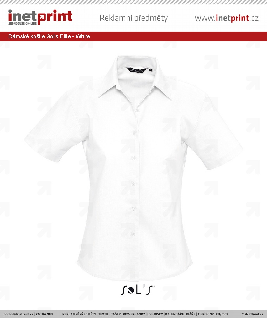 Branding  Dámská košile Sol s Elite 9025a6ba81