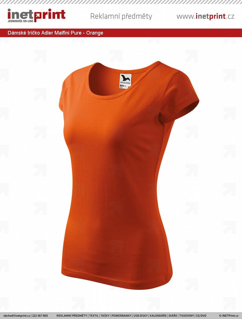 7ae47a00bce1 Dostupnost ve vzorkovně  Dámské tričko Adler Malfini Pure