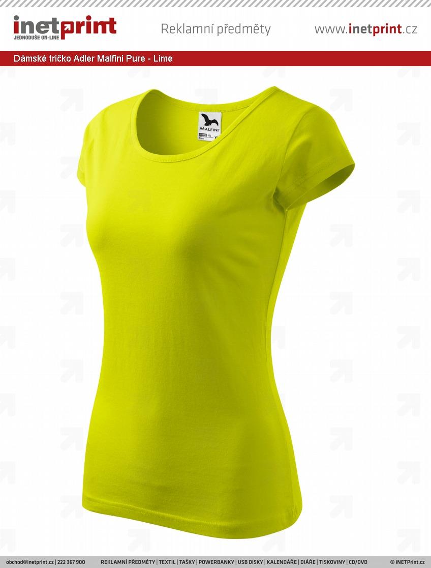 bedbf9cc2f4 Branding  Dámské tričko Adler Malfini Pure