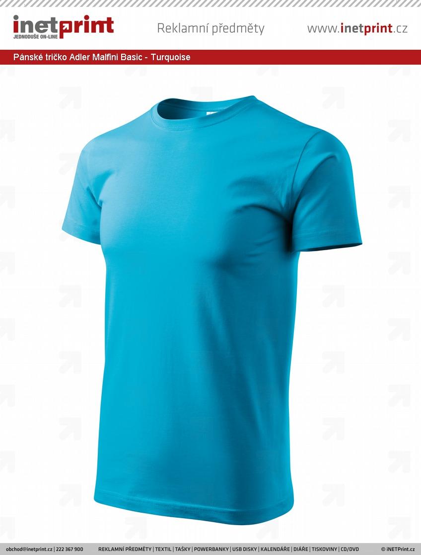 cb1bdd84174d Technické informace  Pánské tričko Adler Malfini Basic