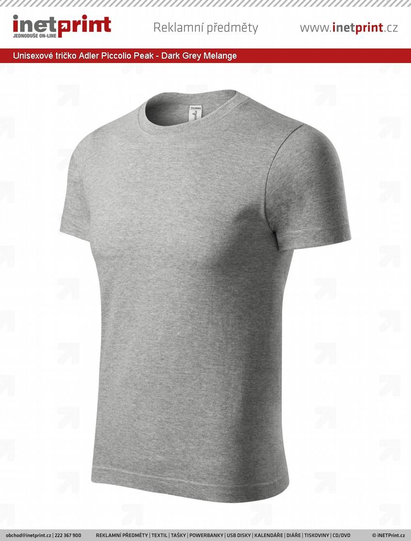 21436b7201f7 Unisexové tričko Adler Piccolio Peak - iNETPrint.cz