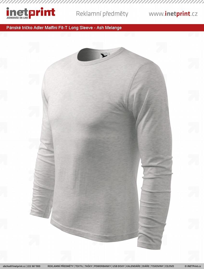a6a75d34c8f6 Pánské tričko Adler Malfini Fit-T Long Sleeve