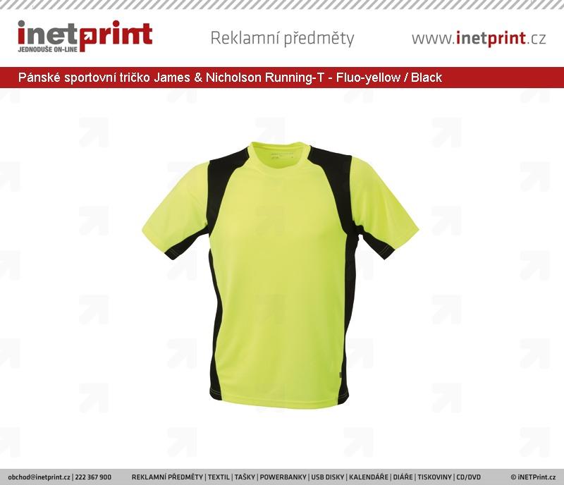 b5fd92824f4 Pánské sportovní tričko James   Nicholson Mens Running-T I ...