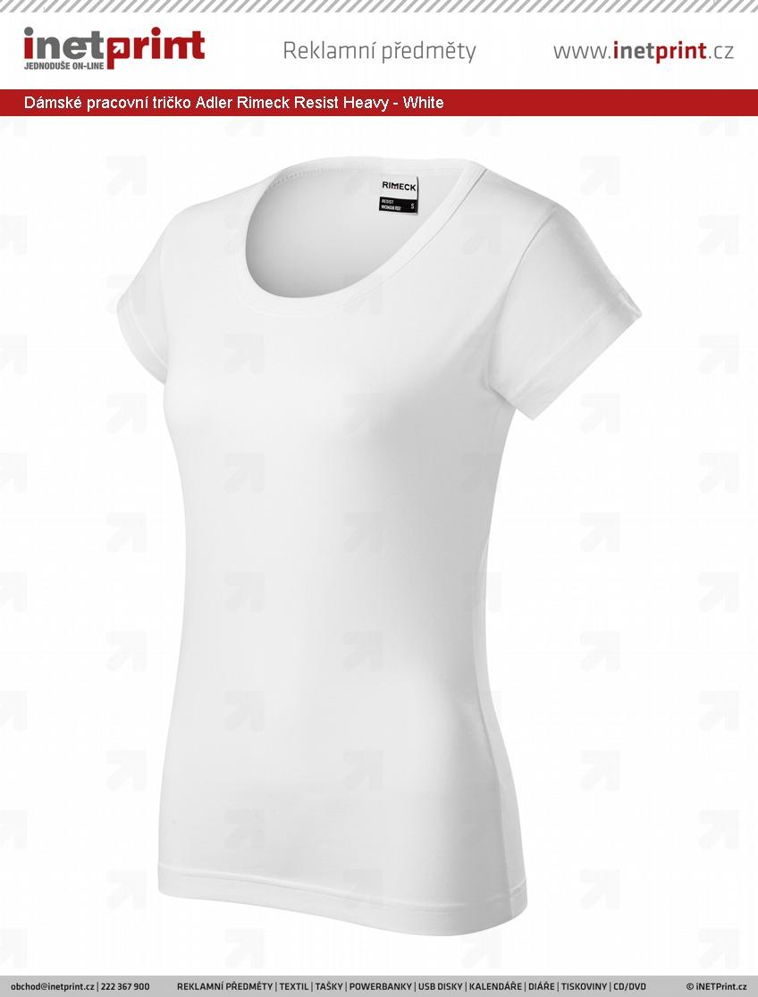 a1e6bd99135c Dámské pracovní tričko Adler Rimeck Resist Heavy - iNETPrint.cz